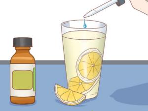 Æteriske olier kan også indtages oralt (via munden)