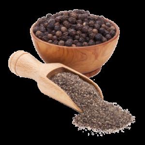 Brug frisk kværnet sort peber eller hele peberkorn
