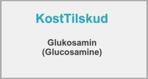 Glukosamin er godt for leddene