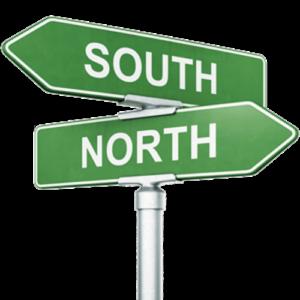 Hvilken af magnetens poler er nord ?