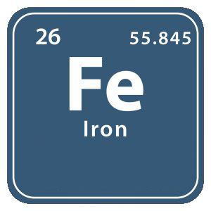 Mineralet jern (iron)