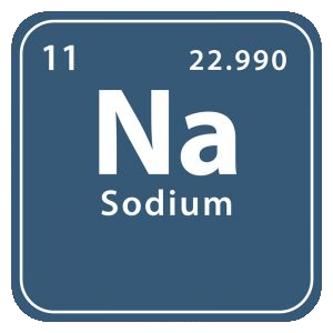 Mineralet natrium (sodium)